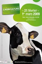 Affiche du salon de l'agriculture 2009 - Soliblog