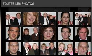 Nathalie Baye, Gérard Depardieu et tout le cinéma français... pour fêter Claude Chabrol
