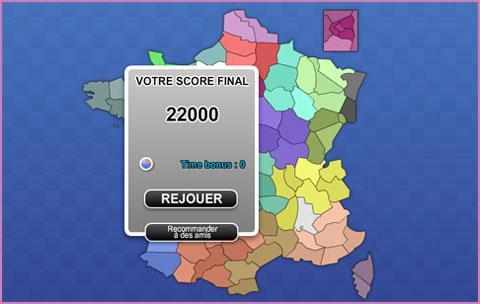 Jeu du week-end pour apprendre les départements de France