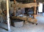 Presse à cidre dans le Pays d'Auge, Normandie, France