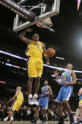 20.02.09 Hornets 111 @ Lakers 115