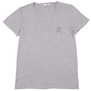 T Shirt Col V Kitsuné x Petit Bateau = 35€ chez Colette