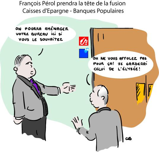 François Pérol prendra la tête de la fusion CE - BP