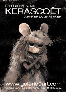 Exposition Kerascoët à Paris