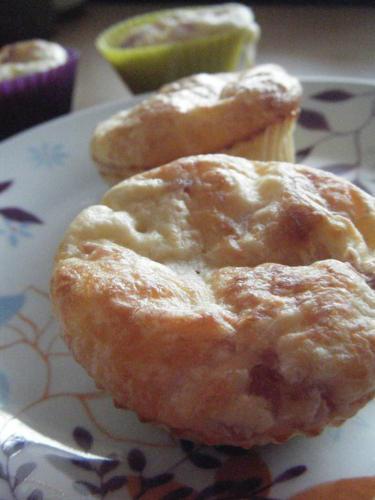 Muffins jambon et emmental