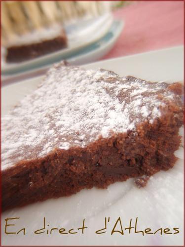Gourmandise g teau au chocolat amande sans farine paperblog - Gateau au chocolat sans farine ...