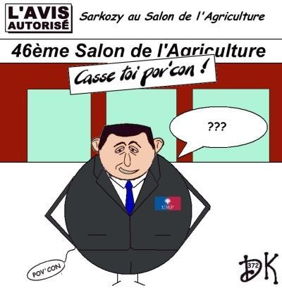 Tags : Nicolas Sarkozy, 46ème Salon de l'Agriculture, Casse-toi Pov'Con ! un an déjà, président de la république, chef de l'état, UMP, ministres, gouvernement, droite décomplexée, paysans, veaux, vaches, cochons, moutons