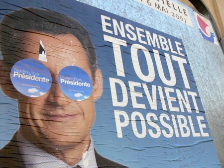 La cote de popularité de Sarkozy chute de 7 points