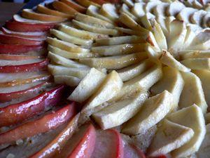 Tarte gourmande aux pommes