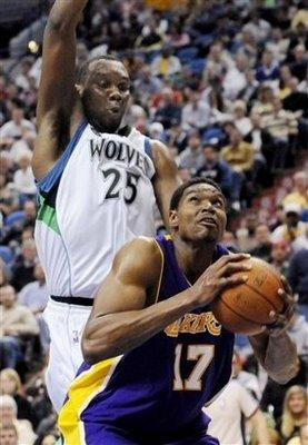 Preview: 22.02.09 Lakers @ Timberwolves
