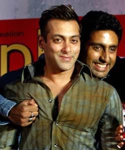Abhishek Bachchan et Salman Khan ensemble!