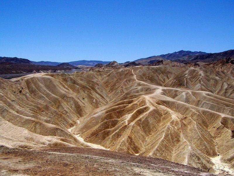 Au cœur de la Vallée de la Mort