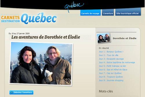 Visibilité 2.0 : le Québec en pointe