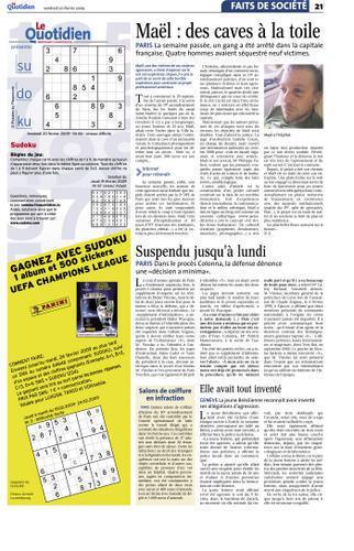 Au Luxembourg, Le Quotidien pond un article orfèvre !