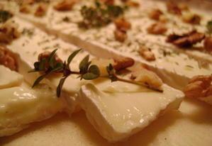 Tarte fine au Camembert, aux Pommes et aux Noix