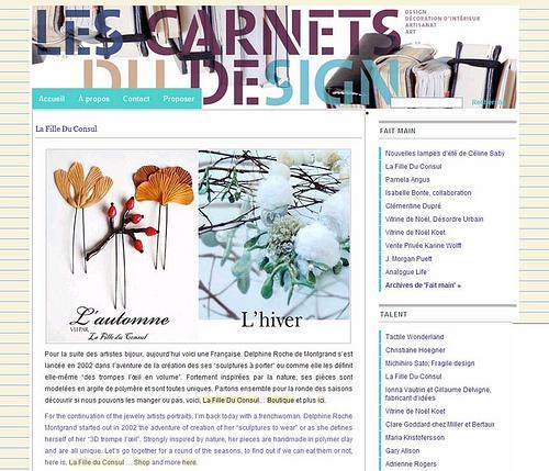 2009 01 Les Carnets du Design