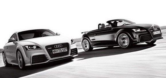 Audi tt rs coupe et roadster