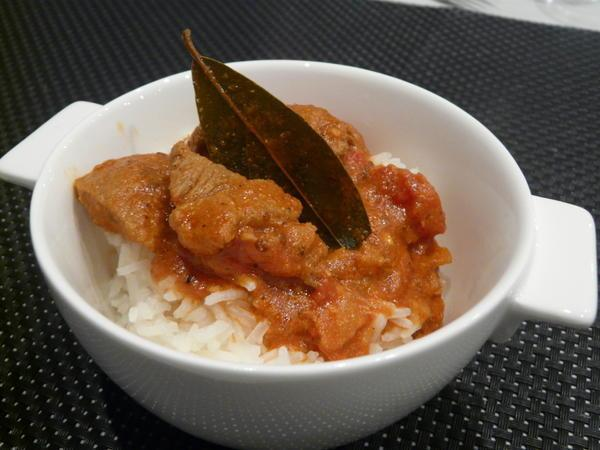 Mardi 18 novembre 2008 : Maquereau nippon - Curry d'agneau - Tatin de figues