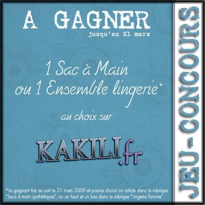 Concours: Kakili fête le printemps !