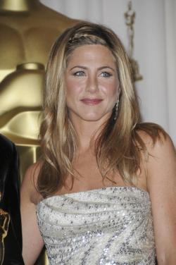 Jennifer Aniston lors de la cérémonie des Oscars