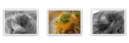 Salade ti de de fenouil l 39 orange paperblog - Comment cuisiner fenouil ...