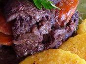 Boeuf carottes, polenta piments d'Espelette