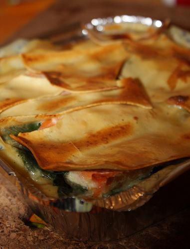 Lasagnes Epinards & Saumon