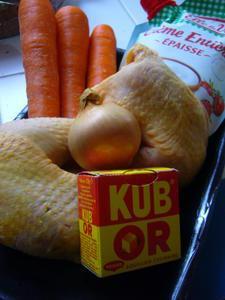 Blanquette au poulet