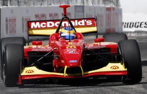 IRL - Milka Duno en essais avec Newman-Haas
