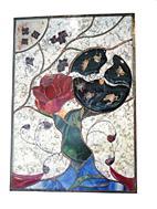Creation Marie.D. vitrailliste chez Jenny du Marais