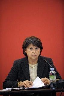 Martine Aubry choquée par la probable nomination à la tête du machin