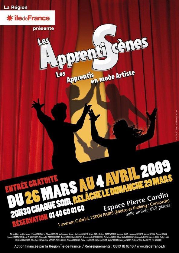 Les ApprentiScènes 2009 : un bon plan pour un spectacle gratuit à Paris