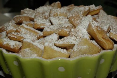Merveilles: beignets de carnaval, nouvelle version