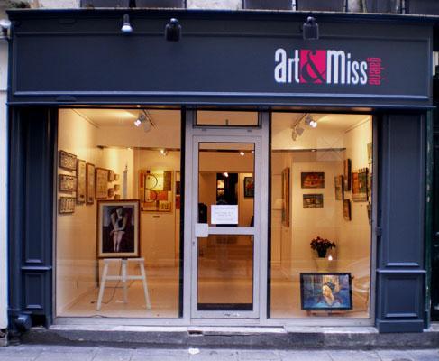 Vitrine Art'et Miss