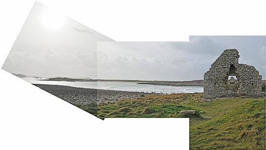 Ruines à l'île Grande