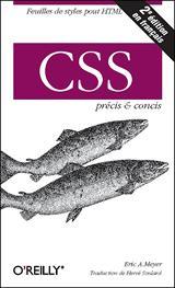 couverture du livre d'Eric A. Meyer - CSS, Précis & Concis