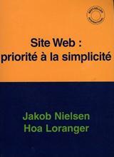 couverture du livre de Jakob Nielsen - Priorité à la simplicité