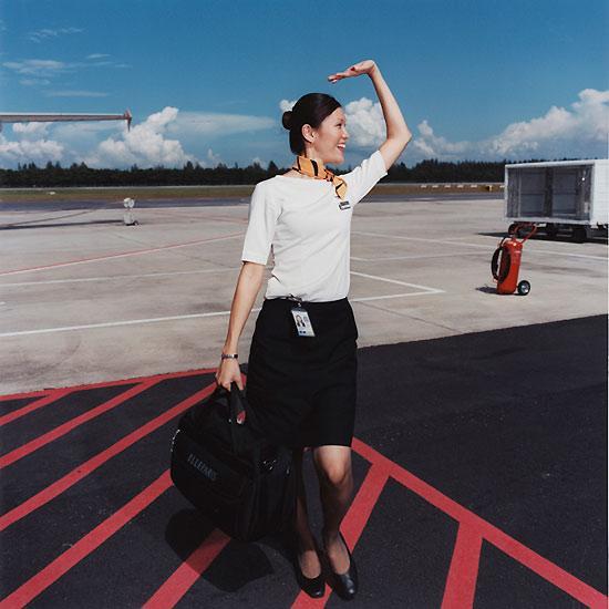 Les hôtesses de l'air par Brian Finke