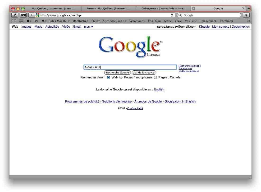 Safari en ligne paperblog for Bloquer les fenetre publicitaire google chrome