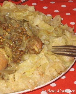 Rfissa au poulet paperblog - Maroc cuisine traditionnel ...