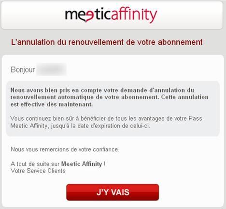 Meetic affinity gratuit pour les femmes