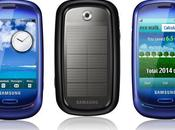 Samsung Blue Earth, mobile carbure solaire
