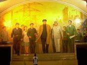 Souvenirs Corée Nord métro, d'Etoile Rouge Champs d'Or