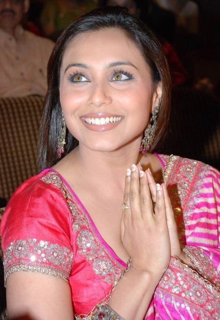 Rani Mukherjee est jalouse d' Asin