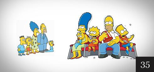 Great Redesigns | Function Design Blog | The Simpsons