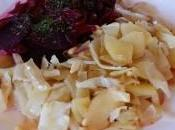 Betteraves salade chou pommes