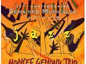 Moncef Genoud Trio samedi Régent