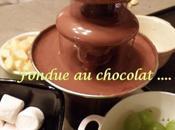 Fondue chocolat Joyeux anniversaire....