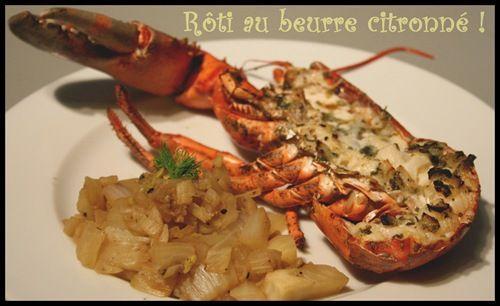 homard rôti (2)
