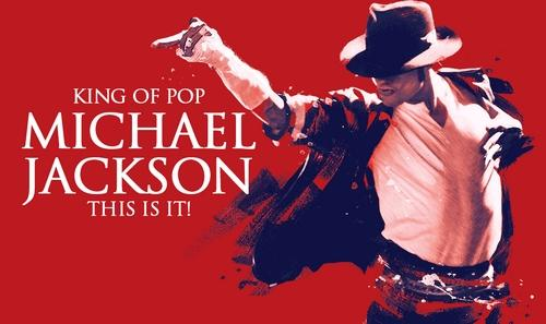 Michael Jackson   This is it dj un carton photo
